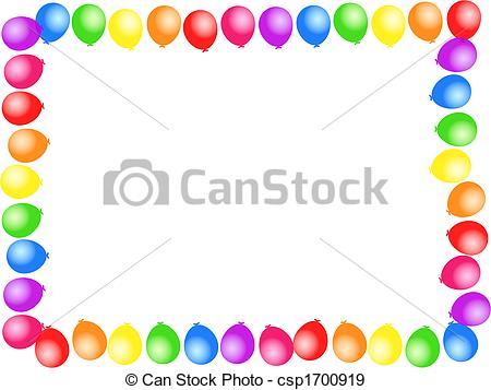 450x357 Birthday Clipart Borders