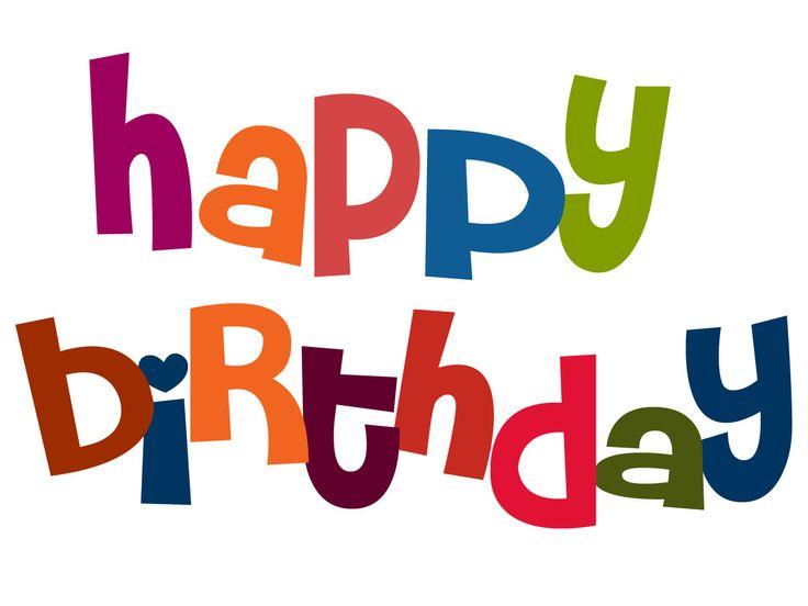 736x552 Free Birthday Birthday Clip Art Birthdays Birthday Parties