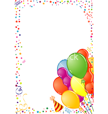 380x400 Image Of Birthday Border Clipart