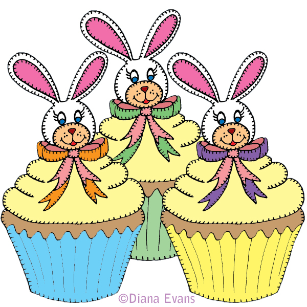 600x600 Easter Birthday Cake Clip Art Happy Easter 2017
