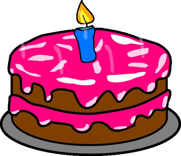 600x518 Cake Clip Art