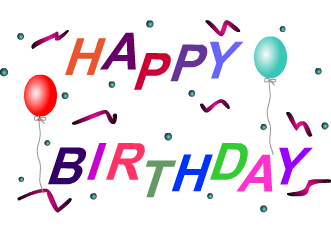 331x234 Happy Birthday Clipart