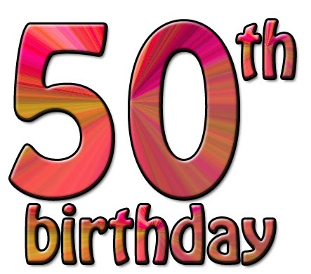 443x390 For Men 50th Birthday Clipart