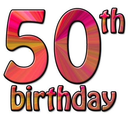 443x390 For Men 50th Birthday Clipart