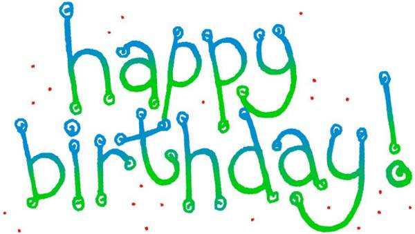 600x339 Happy Birthday Free Birthday Clip Art For Men Clipart Images