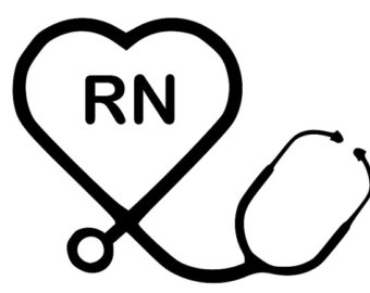 340x270 Stethoscope Clipart Black And White