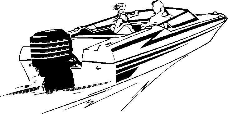 731x367 Speed Boat Clip Art