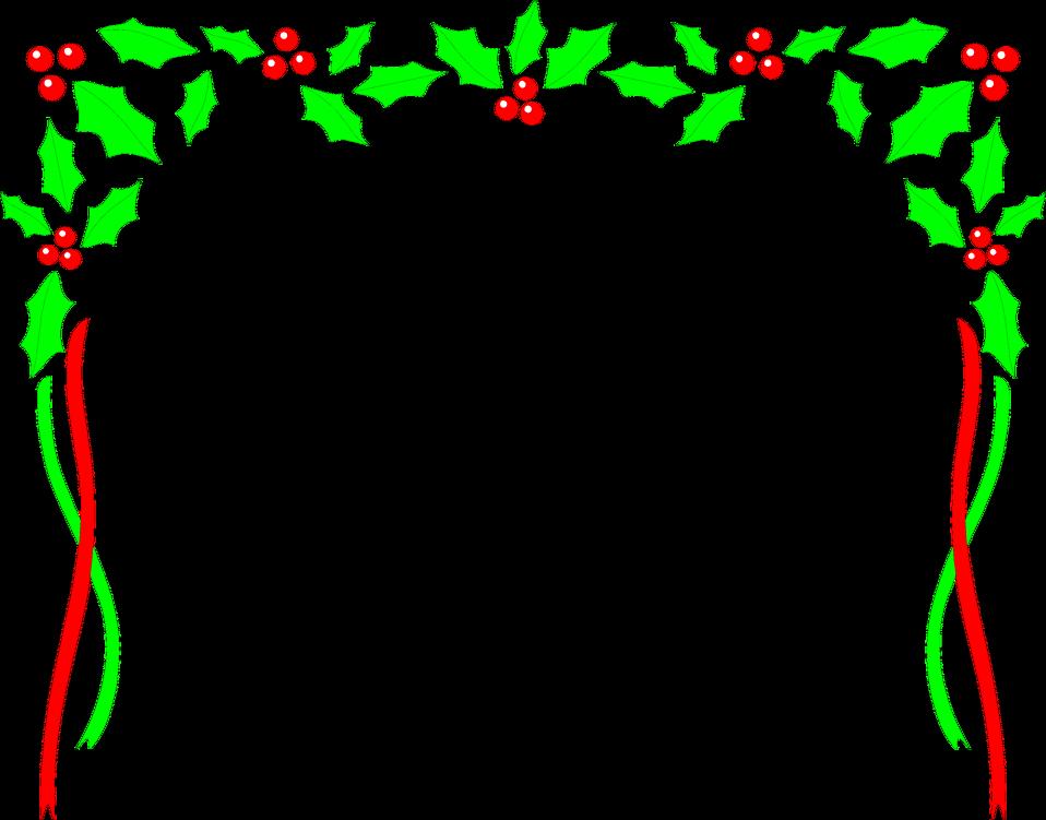958x751 Free Christmas Borders Clip Art 5