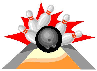 387x283 Bowling Clip Art Free Clipart 2