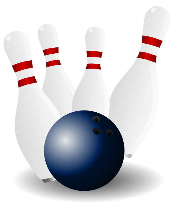 555x666 Free Bowling Pins Amp Bowling Ball Clip Art