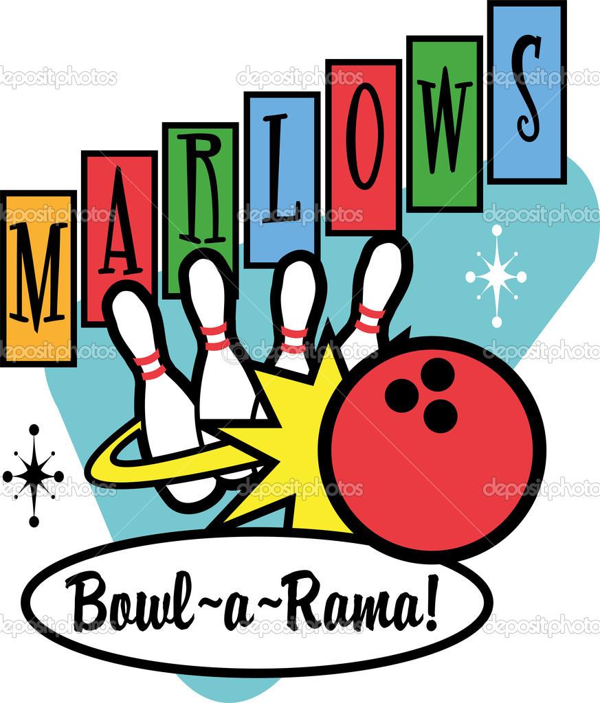 873x1024 Bowling Clipart Retro Bowling