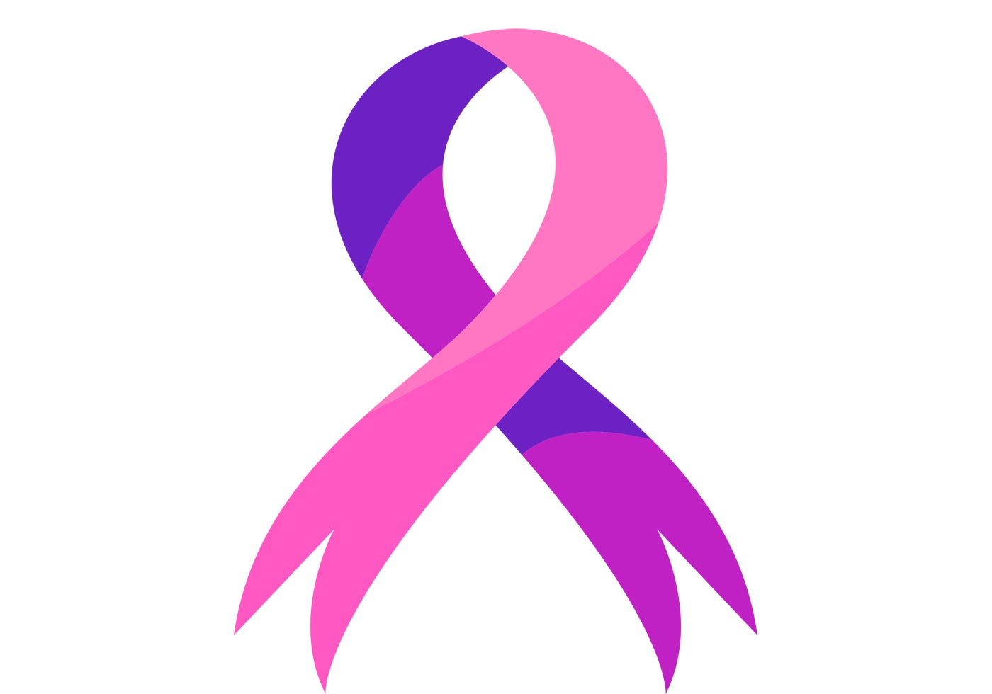 1400x980 Breast Cancer Ribbon Cancer Ribbon Free Vector Art 8 Downloads