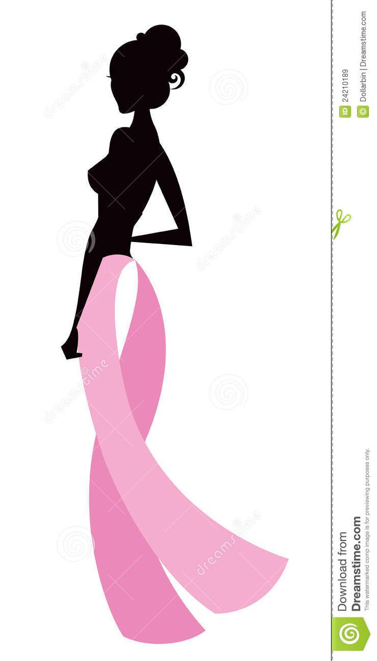 736x1292 African American Breast Cancer Clipart
