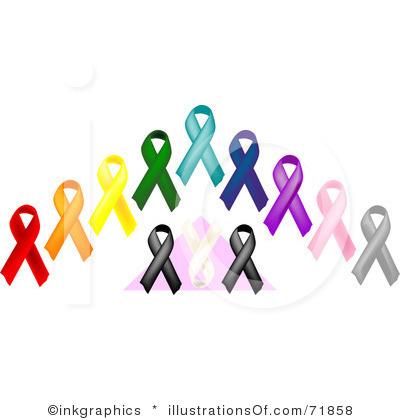 400x420 Free Cancer Ribbon Clip Art