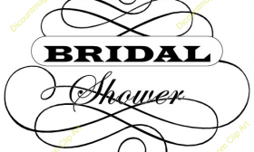 280x168 Bridal Shower Clip Art Free