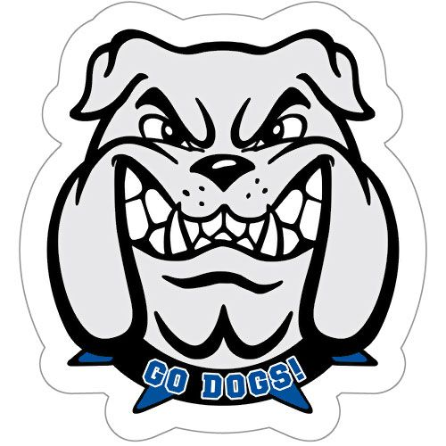 Free Bulldog Mascot Clipart