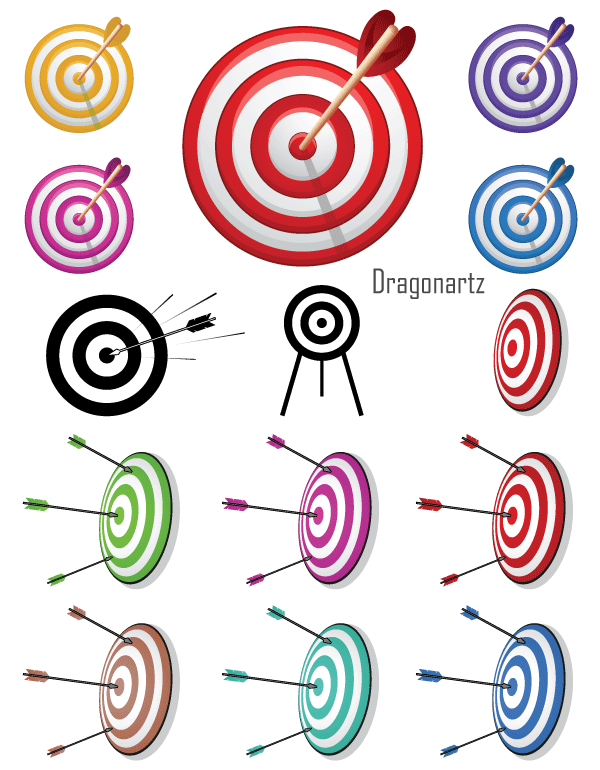 600x770 12 Bullseye Clip Art Vectors Download Free Vector Art Amp Graphics