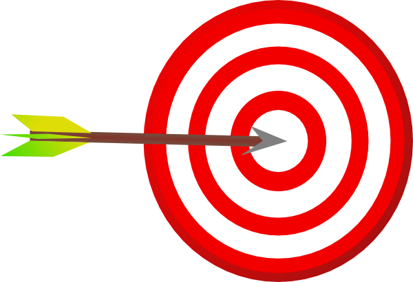600x410 Bullseye Target Arrow Clip Art
