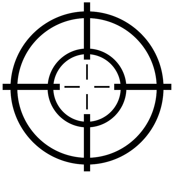 660x660 Clip Art Shooting Target Clipart