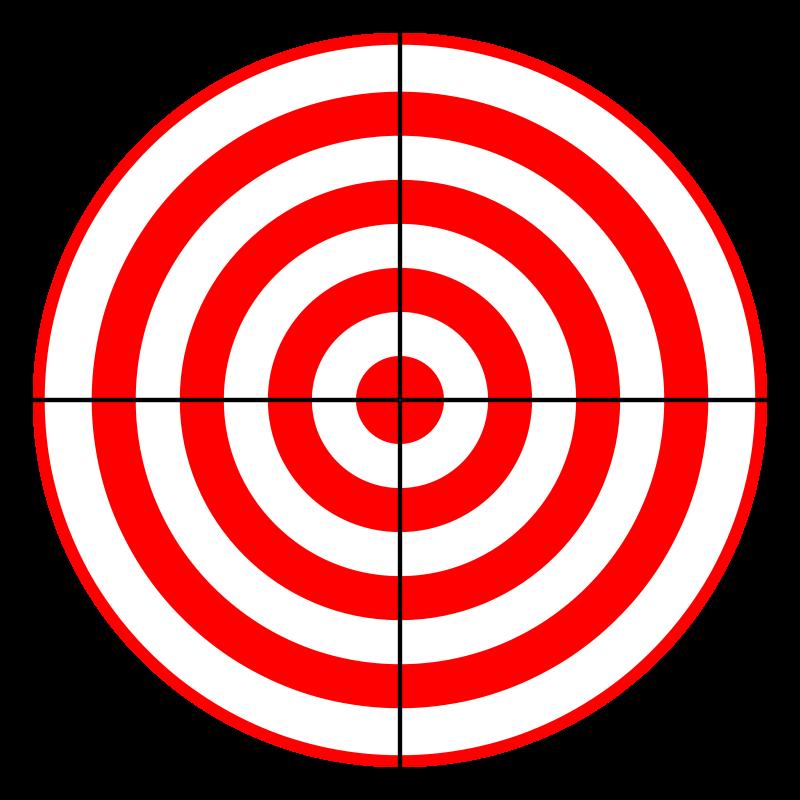 800x800 Free Bullseye Clipart Image