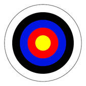 170x170 Stock Illustration Of Bullseye K0251439
