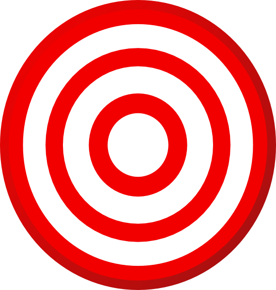 570x599 Target Clip Art