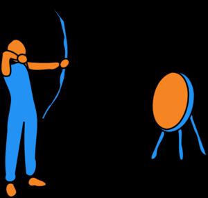 300x285 Archery Bullseye Clipart