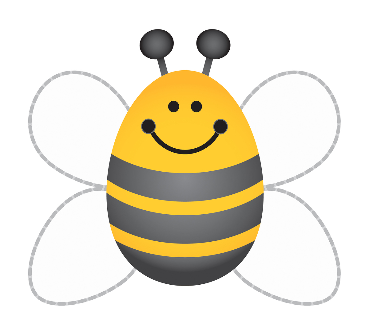 1200x1091 Bumble Bee Clip Art Free