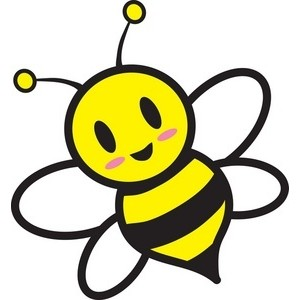 300x300 Bumblebee Clip Art