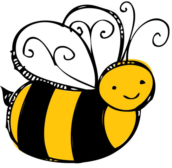 700x683 Bee Clipart Free