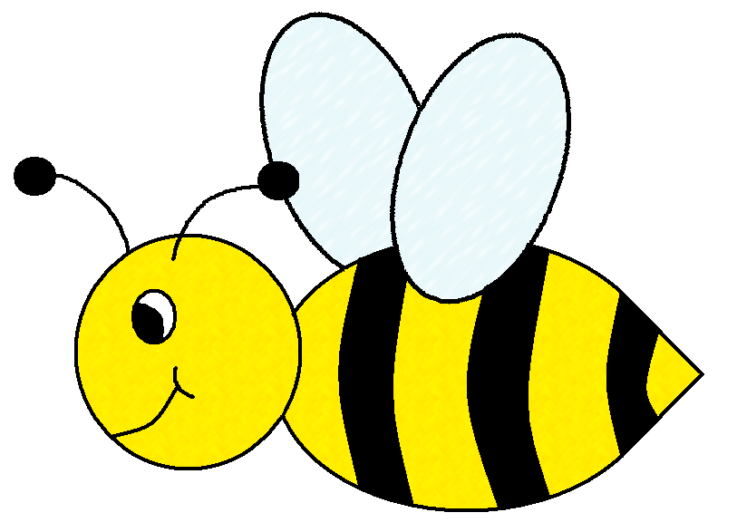 813x587 Bees Clipart Cute