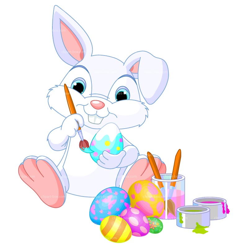 800x800 Cute Clipart Easter Bunny