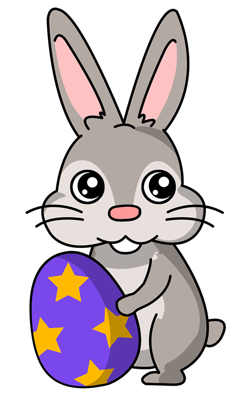 507x800 Easter Bunny Clip Art Free Download Clipart