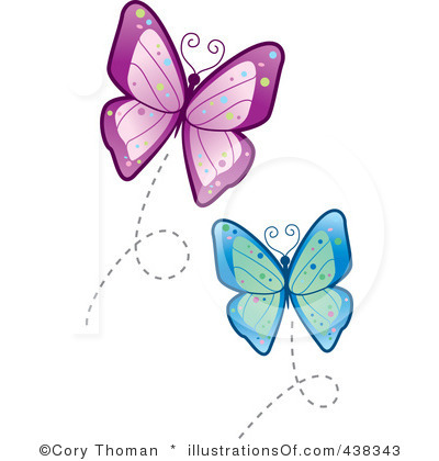 400x420 Free Google Butterfly Clipart