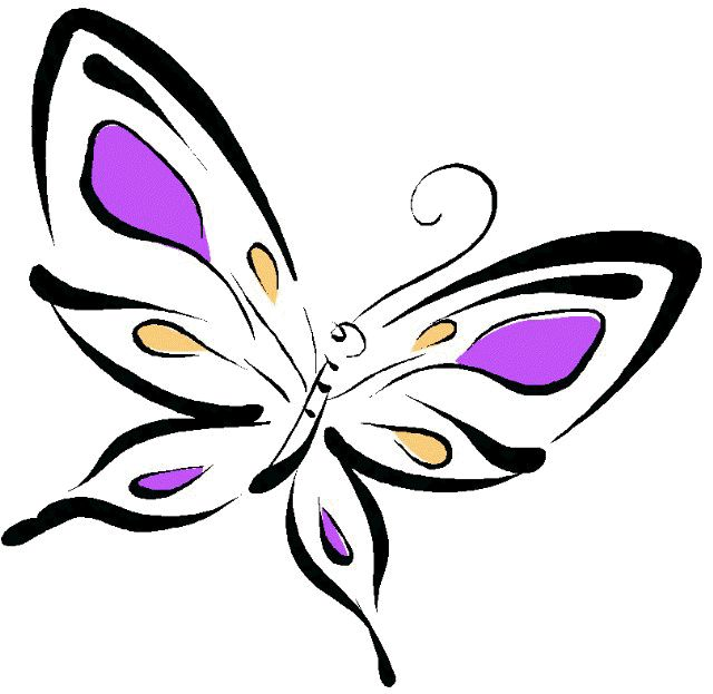 640x623 Butterfly Clipart Butterfly Style Free Butterfly Butterfly Tattoos