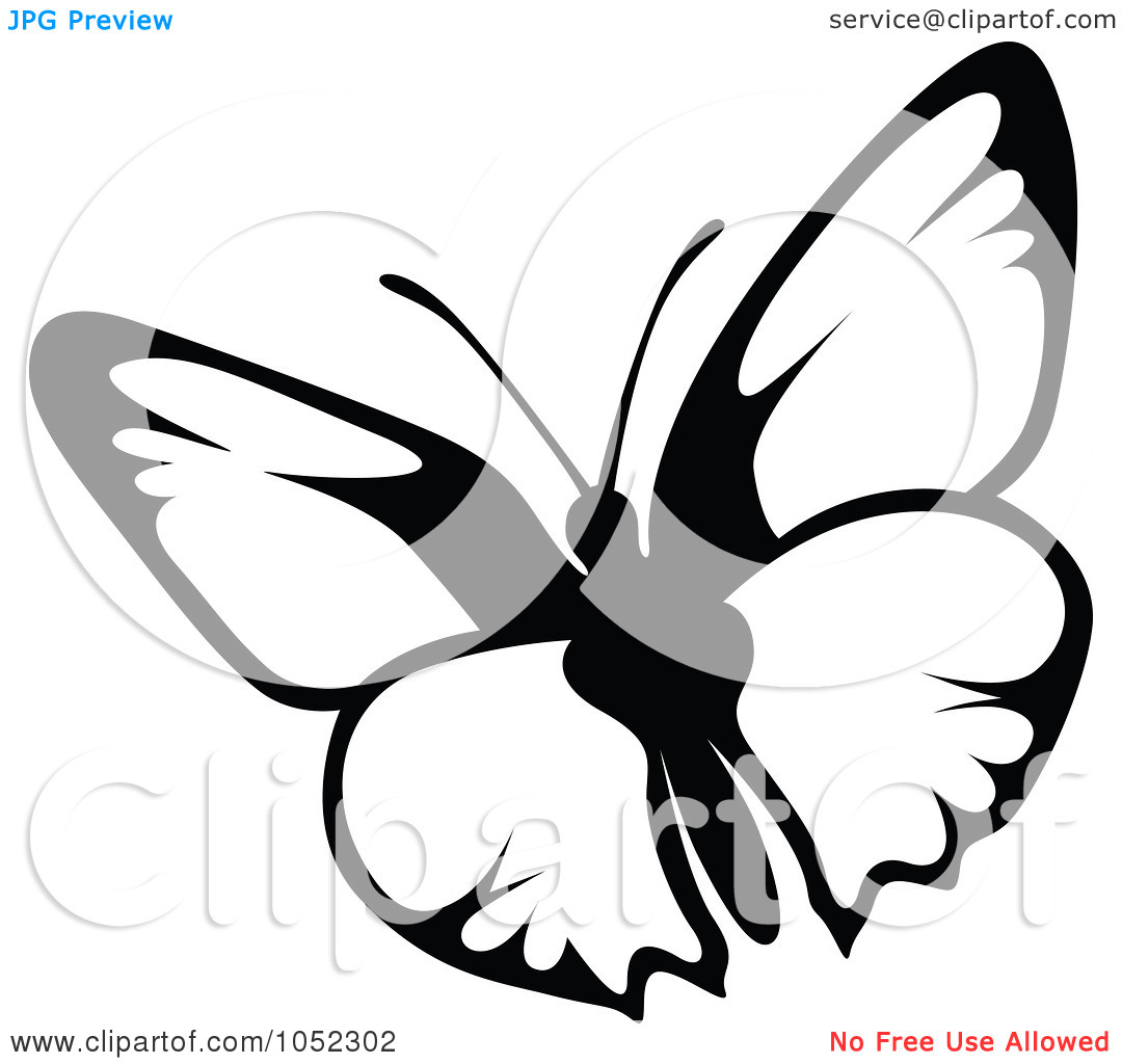 1080x1024 Butterfly Clip Art Black Clipart Panda