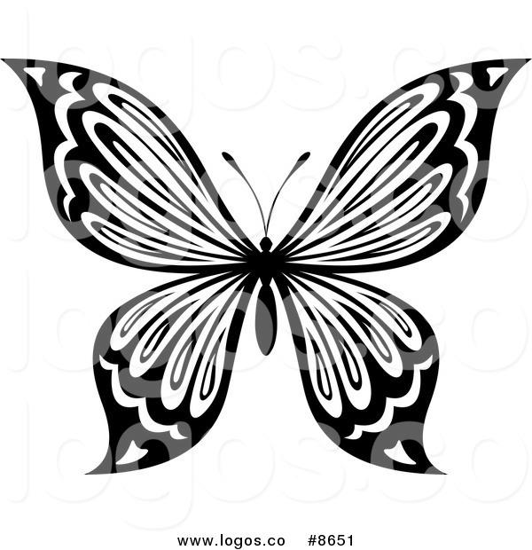 600x620 Butterfly Wing Clip Art