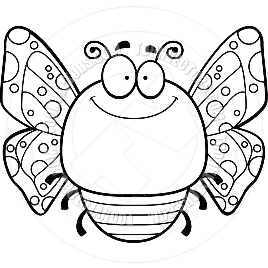 940x940 Clip Art Black And White Moth Clipart