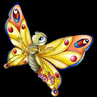 400x400 News Butterfly Butterfly Cartoon Clipart Butterfly Clipart