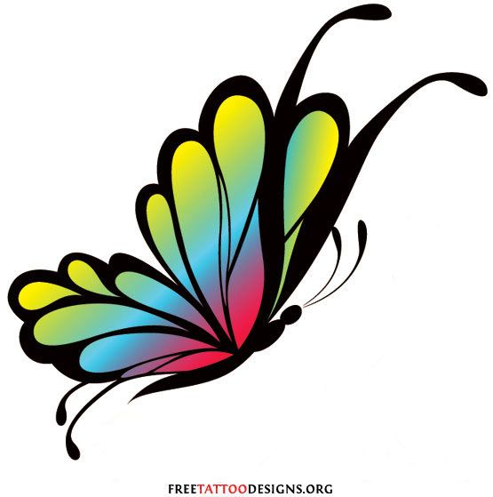 Free Butterfly Graphics Clipart
