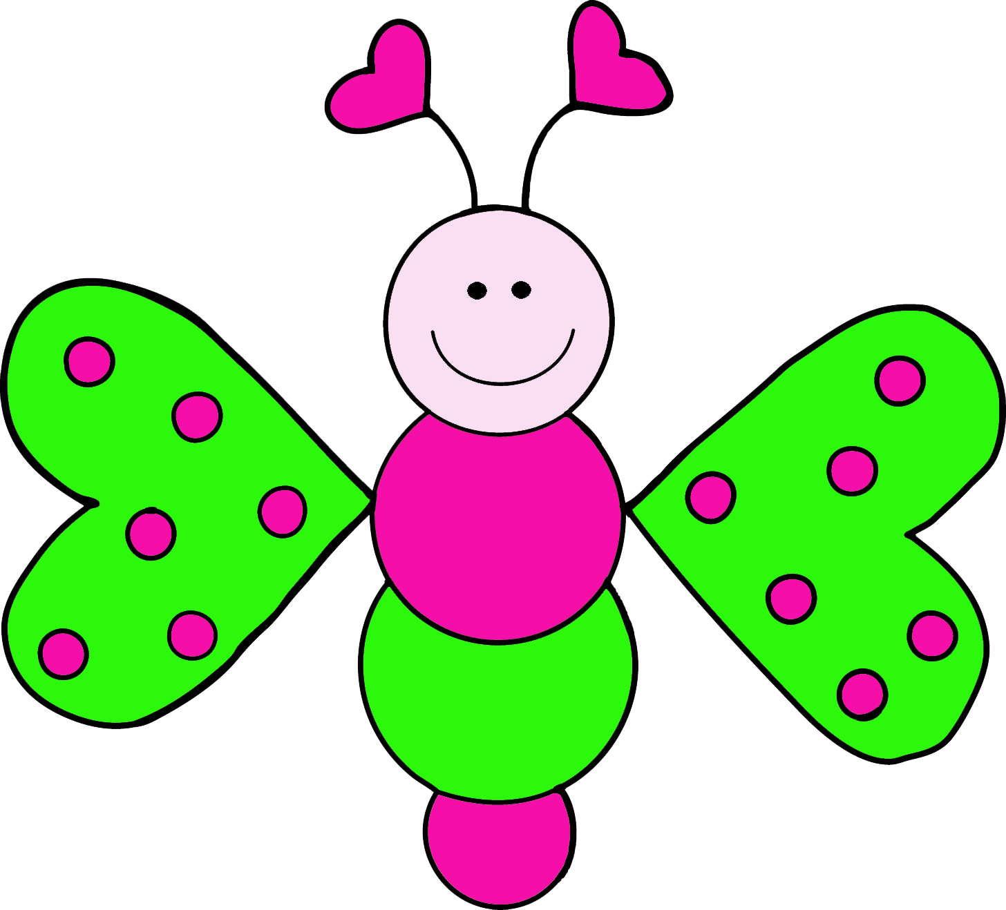 1456x1318 Butterflies Pink Butterfly Clipart Free Images 5