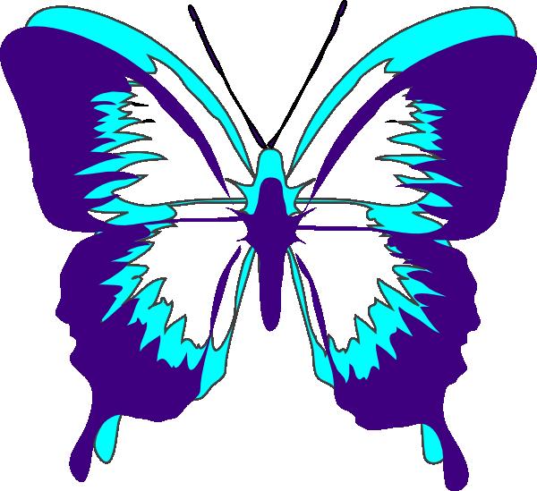 600x549 Butterfly Clip Art