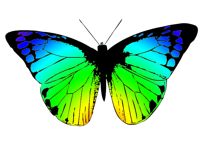 709x496 Free Butterfly Clipart Clip Art Pictures Graphics Illustrations 2