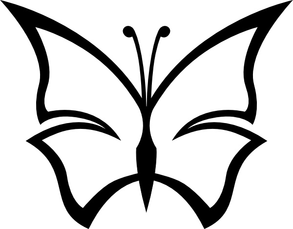 600x469 Abstract Butterfly Clip Art Free Vector In Open Office Drawing Svg