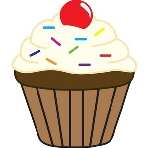 300x300 Cupcake Clip Art Amp Images Free For Mercial Use