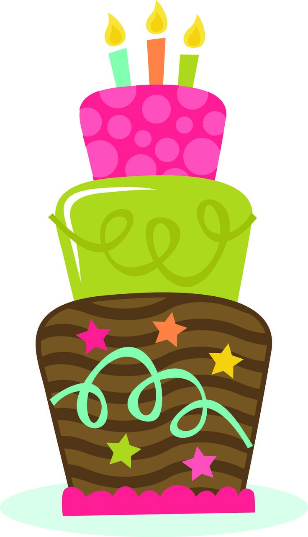 736x1283 Free Birthday Cake Clip Art