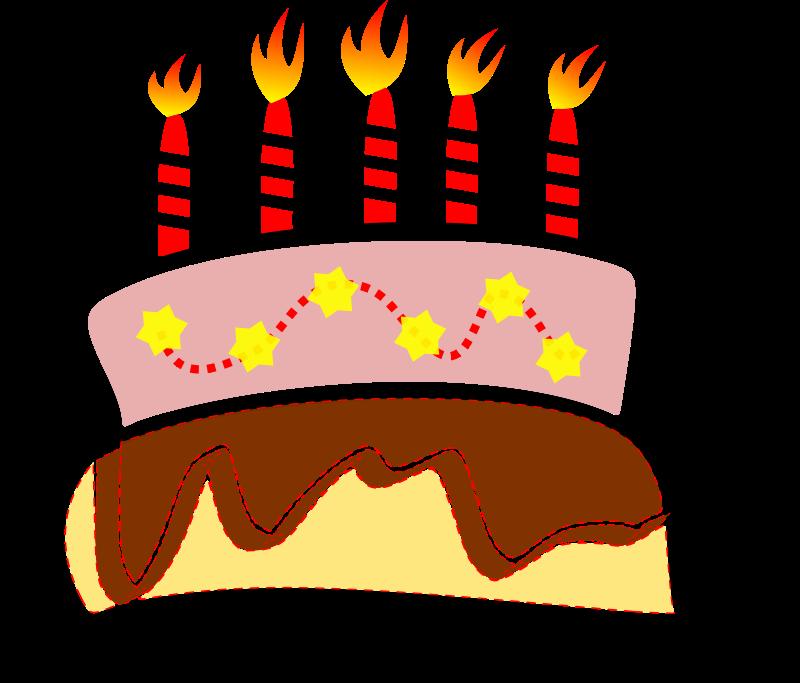 800x683 Free Birthday Cake Clipart 2