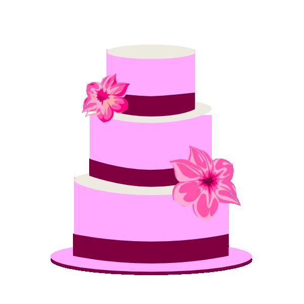 600x600 Tiered Cake Clip Art