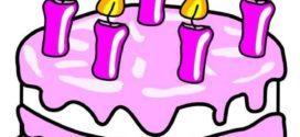 272x125 Art Cake Birthday Cake Clipart 4 Cakes Clipartix