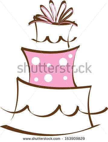 358x470 Cakes Clip Art